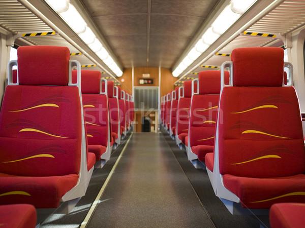 Forens trein lege auto Stockfoto © dgilder