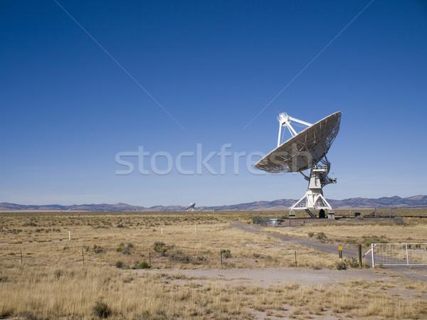 большой массив радио телескопом антенна Нью-Мексико Сток-фото © dgilder