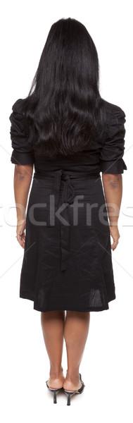 Businesswoman - Latina backside Stock photo © dgilder
