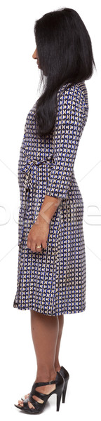 Casual Latina - rotation side view Stock photo © dgilder