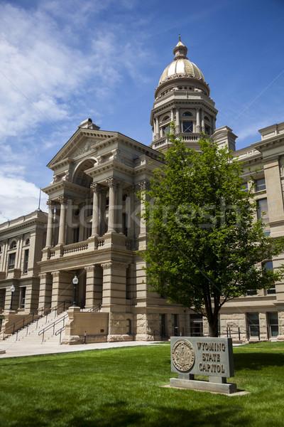 Wyoming State Capitol Building Stock photo © dgilder