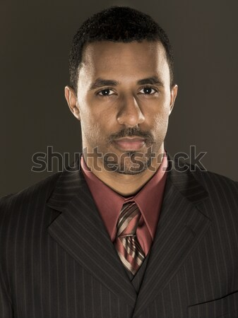 businessman - intense confidence Stock photo © dgilder