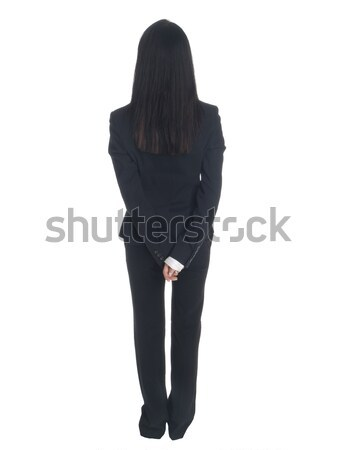 businesswoman - backside Stock photo © dgilder