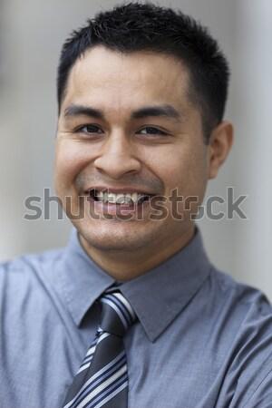 Hispanic бизнесмен портрет складе фото Сток-фото © dgilder