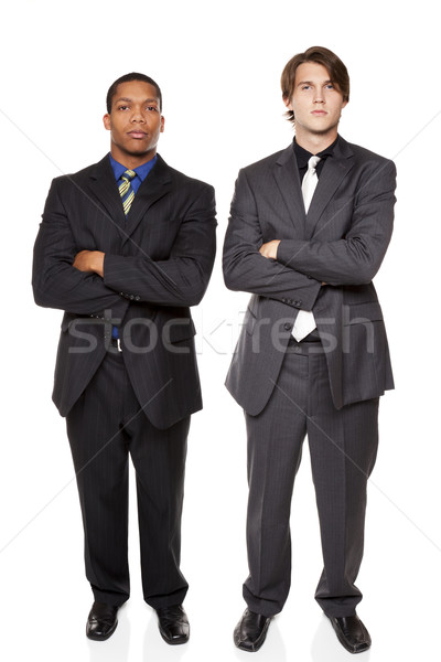 businesspeople - confident men Stock photo © dgilder