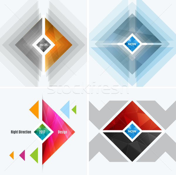 Abstract vector design elements for graphic layout Stock photo © Diamond-Graphics