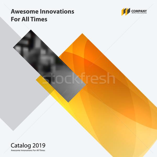Abstract ontwerp kleurrijk vector communie moderne Stockfoto © Diamond-Graphics