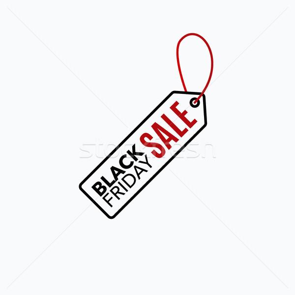 Black friday vente modèle de conception Creative bannière vecteur Photo stock © Diamond-Graphics