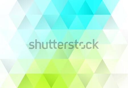 Abstract Background Design Vector Eco Green Turquoise