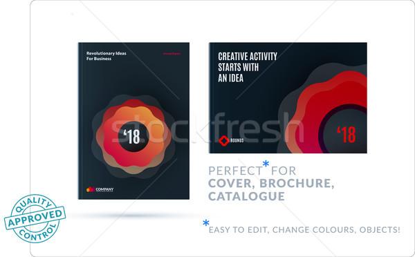 創造 デザイン ビジネス パンフレット セット 抽象的な ストックフォト © Diamond-Graphics
