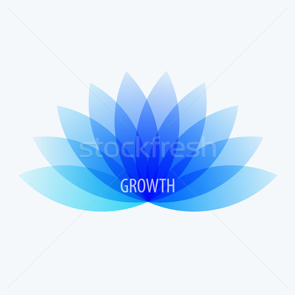 Abstract design of colourful vector elements for modern background with flower smooth shape for busi Stock photo © Diamond-Graphics