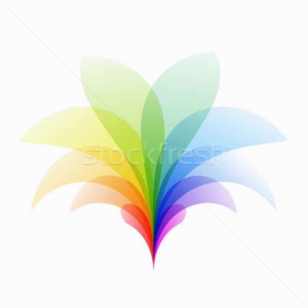 Streszczenie projektu kolorowy wektora elementy nowoczesne Zdjęcia stock © Diamond-Graphics