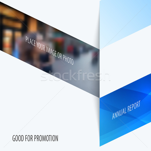 Business design of abstract vector elements for graphic template. Modern background Stock photo © Diamond-Graphics