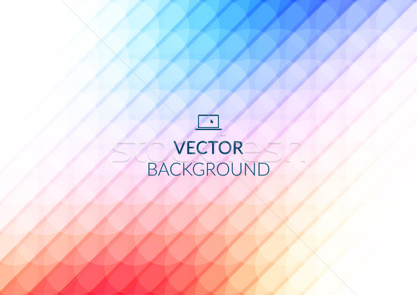 Abstract background design, vector elements for graphic template. Colourful elements for branding Stock photo © Diamond-Graphics