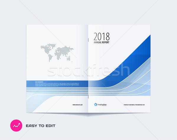 Zdjęcia stock: Streszczenie · broszura · projektu · nowoczesne · katalog · okładka