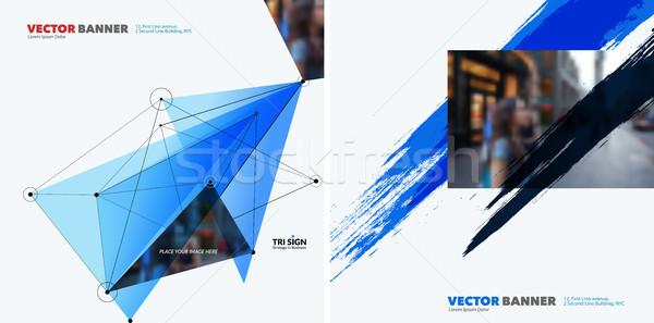 セット 抽象的な ベクトル デザイン 要素 グラフィック ストックフォト © Diamond-Graphics