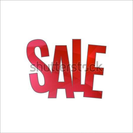 продажи баннер шаблон дизайна специальное предложение красный Сток-фото © Diamond-Graphics