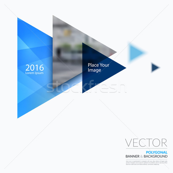 Affaires vecteur design graphique layout Photo stock © Diamond-Graphics