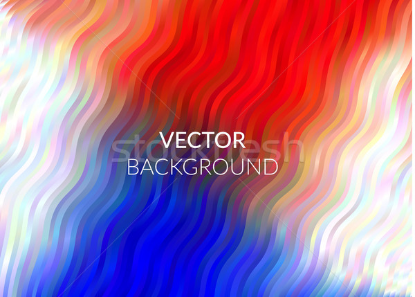Abstract background design, vector red blue elements for graphic template. Colourful elements for br Stock photo © Diamond-Graphics
