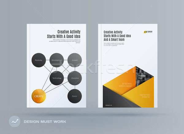 小冊 設計 模板 現代 抽象 商業照片 © Diamond-Graphics