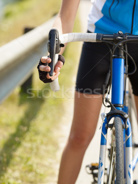 cyclist Stock photo © diego_cervo