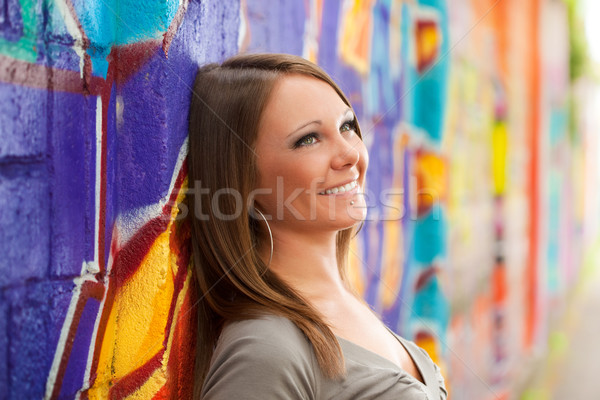young woman in love Stock photo © diego_cervo