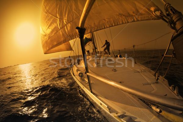 sail boat Stock photo © diego_cervo