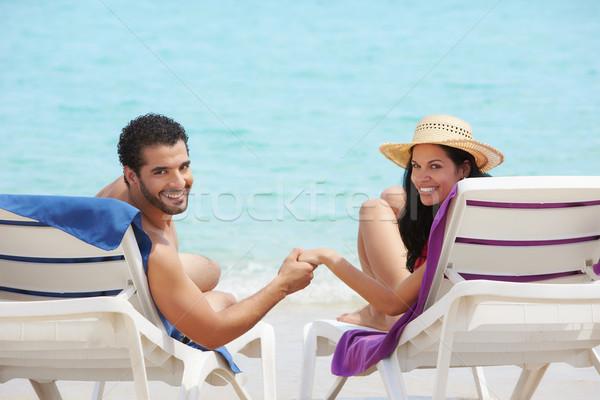 человека женщину медовый месяц Куба муж жена Сток-фото © diego_cervo
