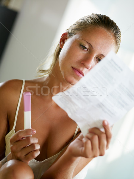 pregnancy test Stock photo © diego_cervo