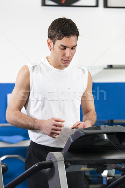 treadmill Stock photo © diego_cervo