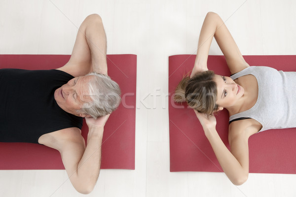 fitness and yoga Stock photo © diego_cervo
