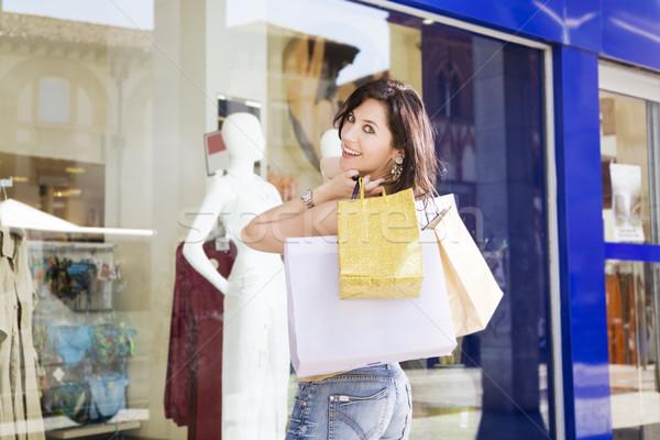 Stok fotoğraf: Alışveriş · yetişkin · İtalyan · kadın