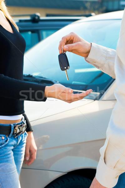 car keys Stock photo © diego_cervo