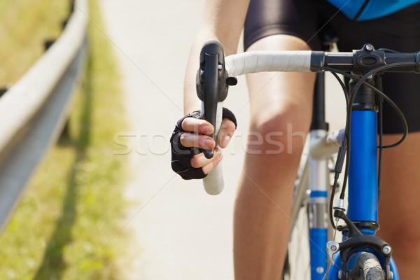 cyclist Stock photo © diego_cervo