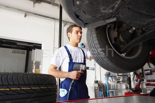 mechanic Stock photo © diego_cervo