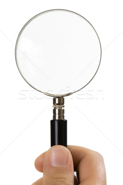 magnifying glass Stock photo © diego_cervo