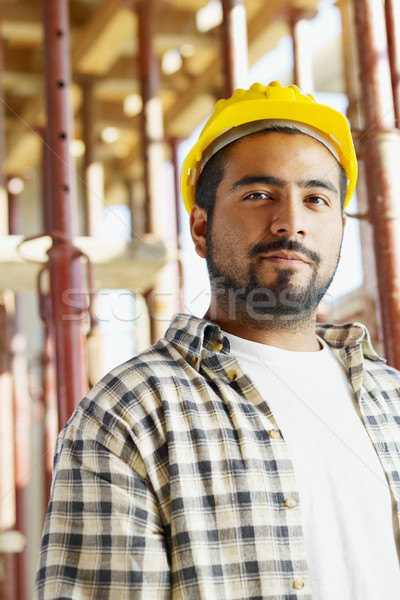Construction worker Stock photo © diego_cervo