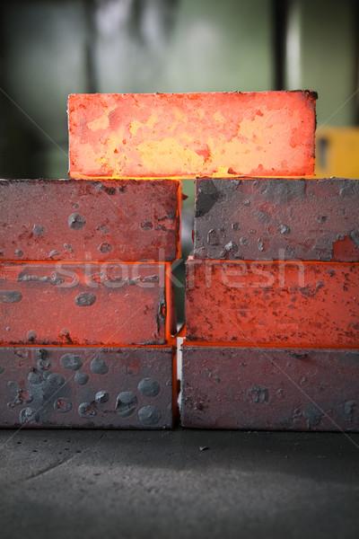 iron blocks Stock photo © diego_cervo