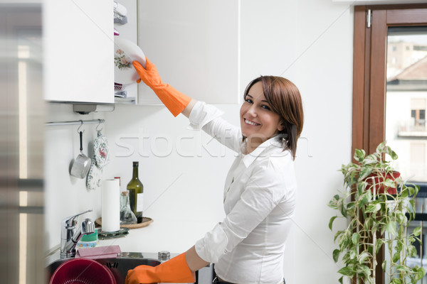 housekeeping Stock photo © diego_cervo
