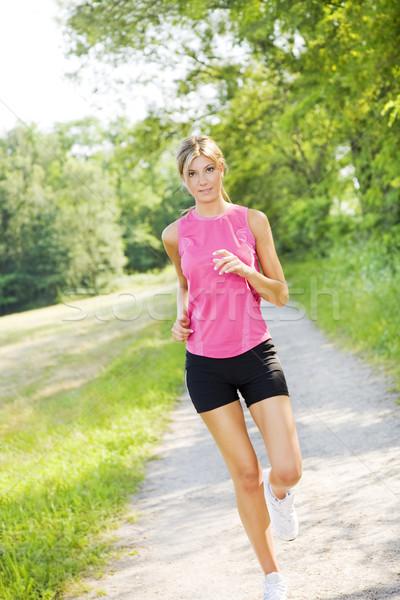 jogging Stock photo © diego_cervo