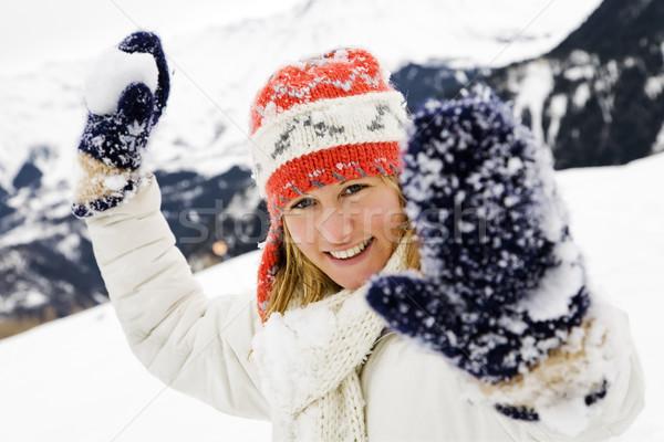 winter scene Stock photo © diego_cervo