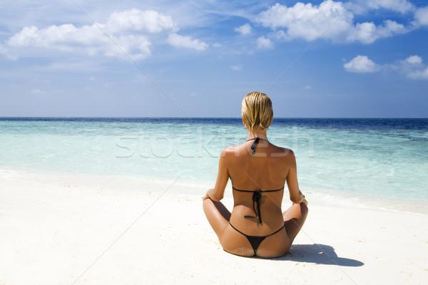 tropical beach Stock photo © diego_cervo