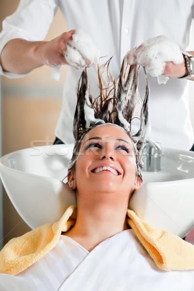hair salon Stock photo © diego_cervo