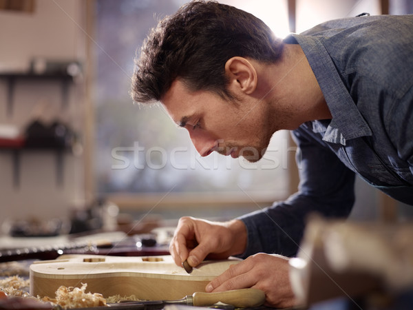 Photo stock: Italien · travail · atelier · adulte · homme · travaux