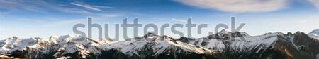 the Alps Stock photo © diego_cervo