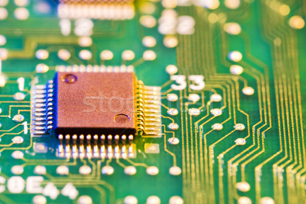 computer chip Stock photo © diego_cervo