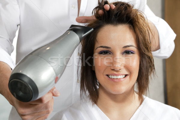 Stock photo: hair salon