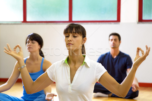 Stock photo: health club