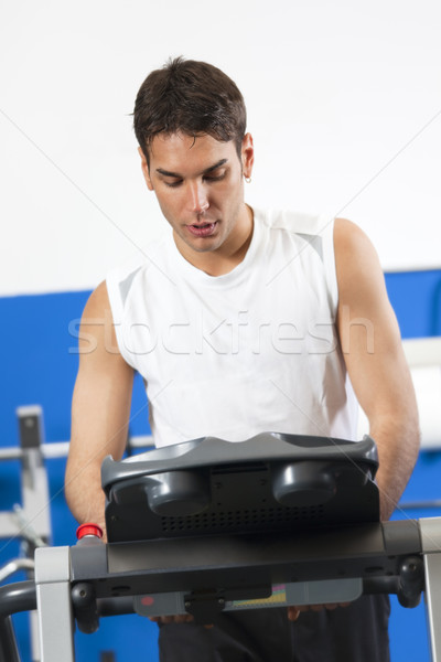 gym Stock photo © diego_cervo