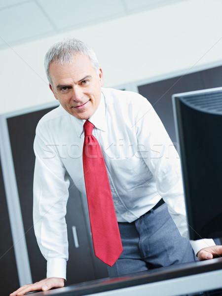 成熟した ビジネスマン オフィス 肖像 ビジネスマン ストックフォト © diego_cervo